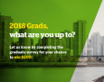 2018 Grads, what are you up to? Let us know by completing the graduate survey for your chance to win $500!